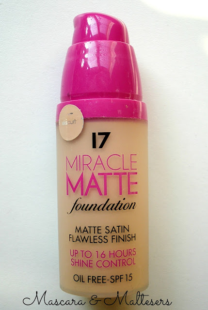 Seventeen Miracle Matte Foundation