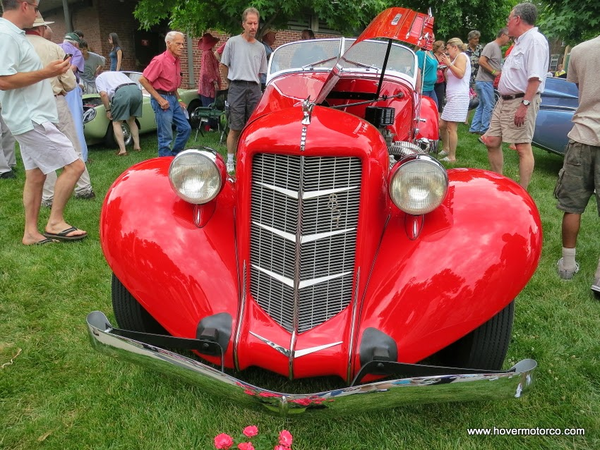 HOVER MOTOR COMPANY: Seventh-Annual Art of the Car Concours brings ...