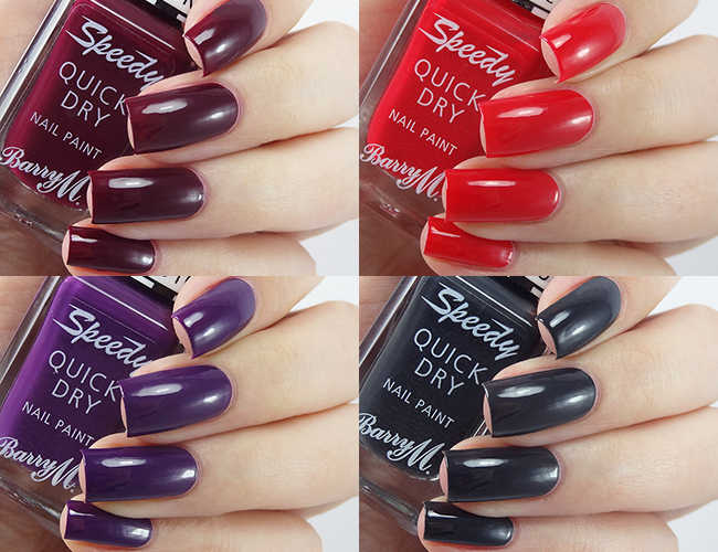 Barry M Speedy Quick Dry Autumn/Winter 2015