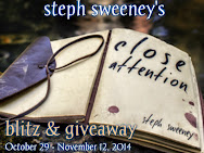 Steph Sweeney's CLOSE ATTENTION Blitz & Giveaway