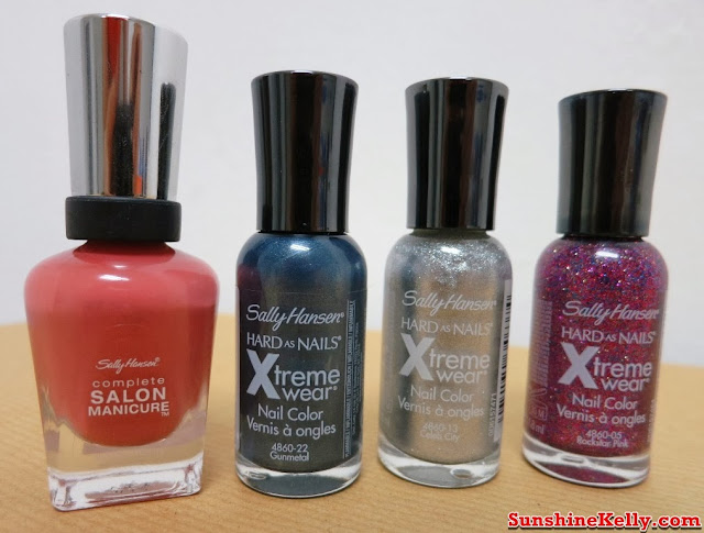Sally Hansen, Nicole by OPI, Nail Workshop, Giveaway, nail care, nail colors, nair art, nail treatment, sally hansen complete salon manicure, nicole by opi hard as nails xtreme wear nail colors