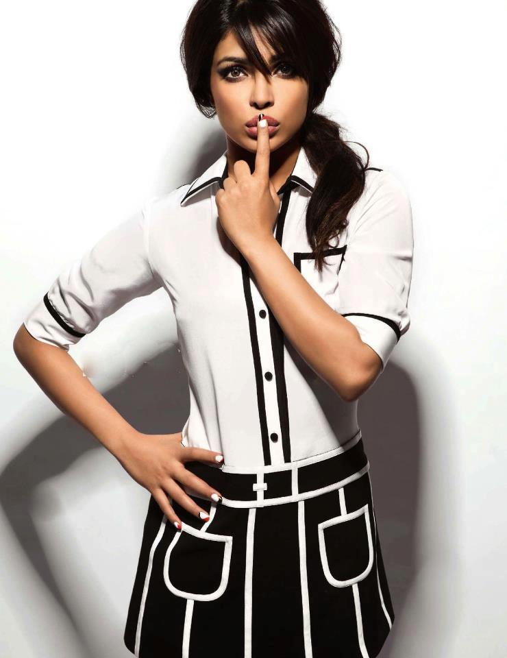 Diesel World Nh >> BeYaar: Priyanka Chopra Stylish Look Photo Shoot For Vogue India March 2013