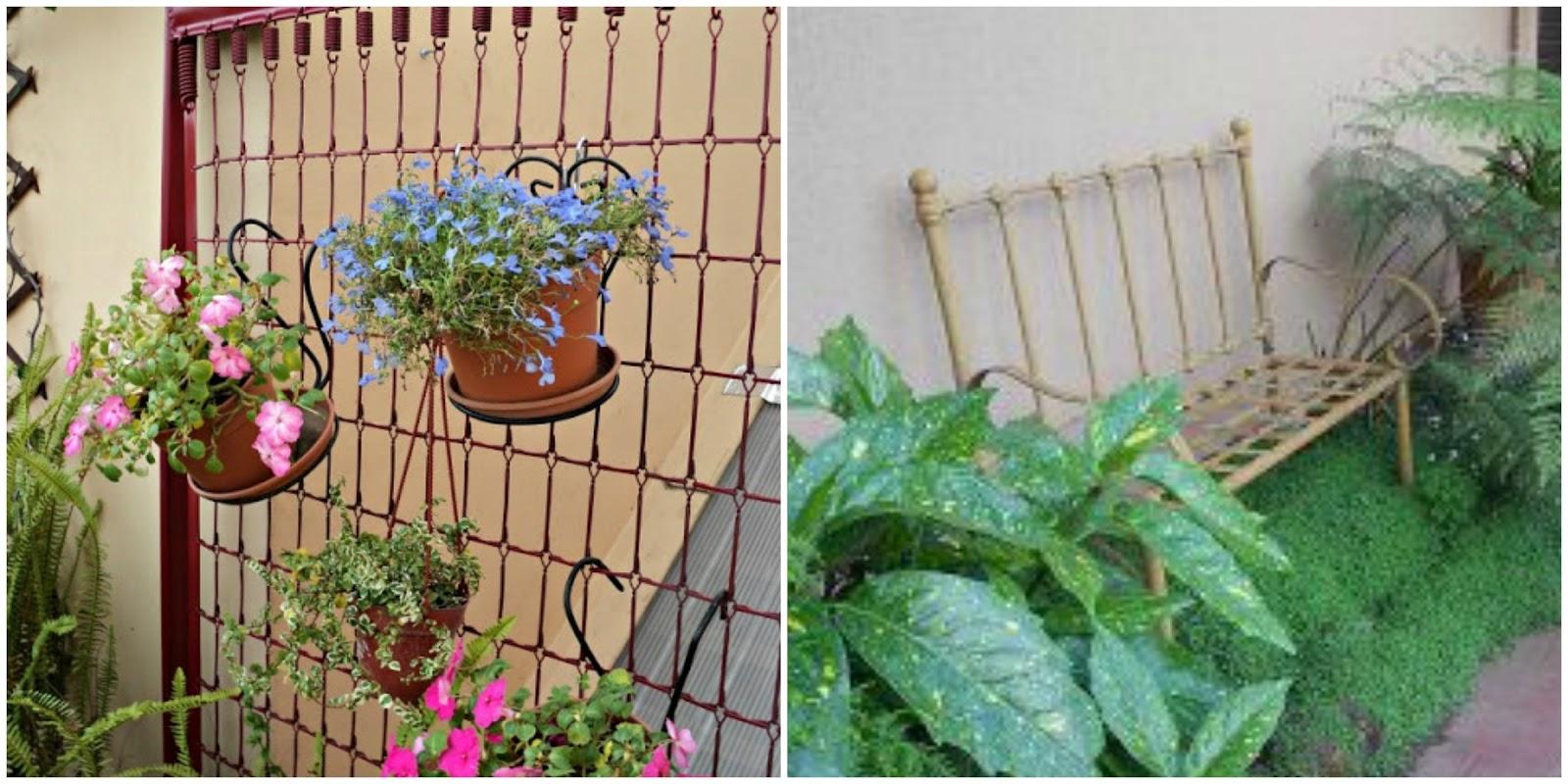 Tocando mis sue os decora el jard n reciclando - Troncos para jardin ...