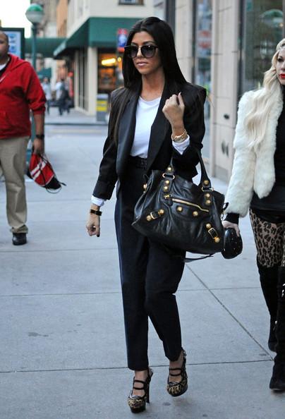 Fashion Friday Kourtney Kardashian A Fendi Bag And A Bad Attitude