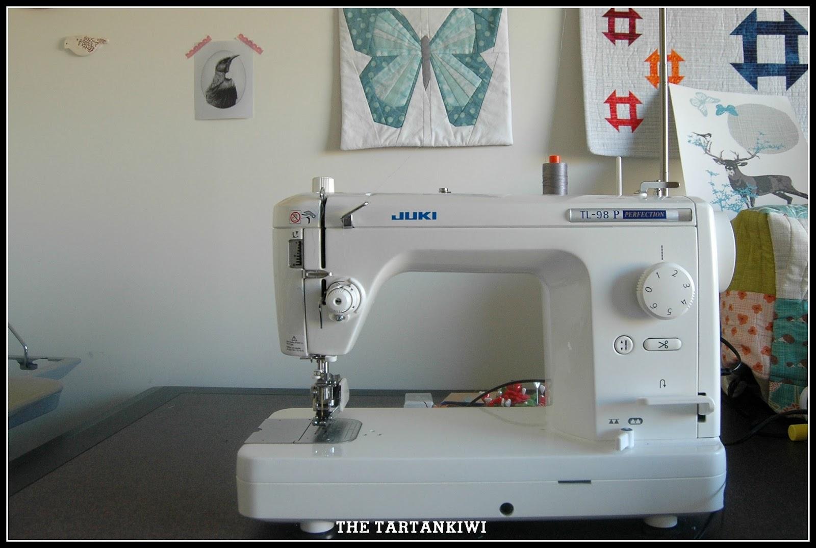 The Tartankiwi: My New Sewing Machine- Juki TL-98P : juki quilting sewing machine - Adamdwight.com