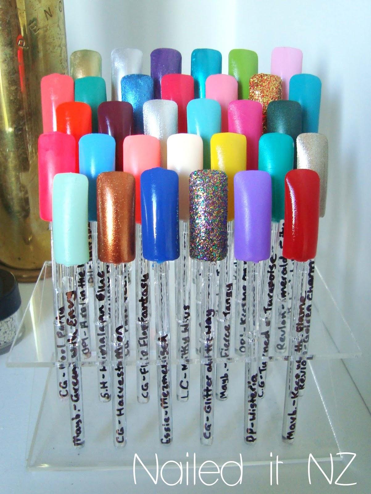 My top 32 nail polishes!