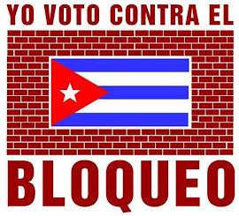 Ψηφίζω ενάντια στον αποκλεισμό της Κούβας!