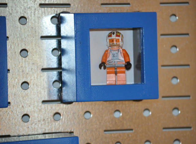 lego guy display case
