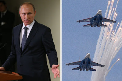 Russia launches airstrikes on Islamic states