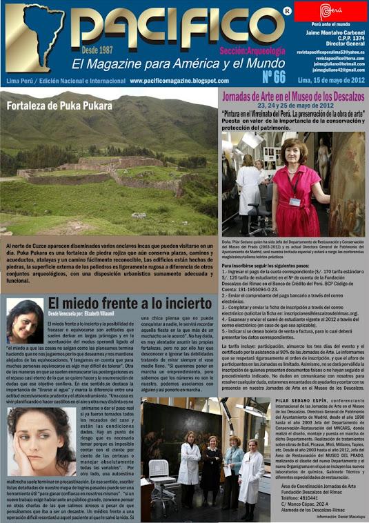 Revista Pacífico Nº 66 Arqueología