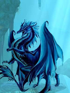 image de dragon d'eau