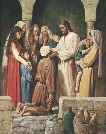 Vinde a Jesus, recebei a glória de Deus!