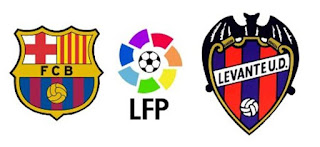 Barcelona Vs Levante en la jornada 15 de la Liga Española