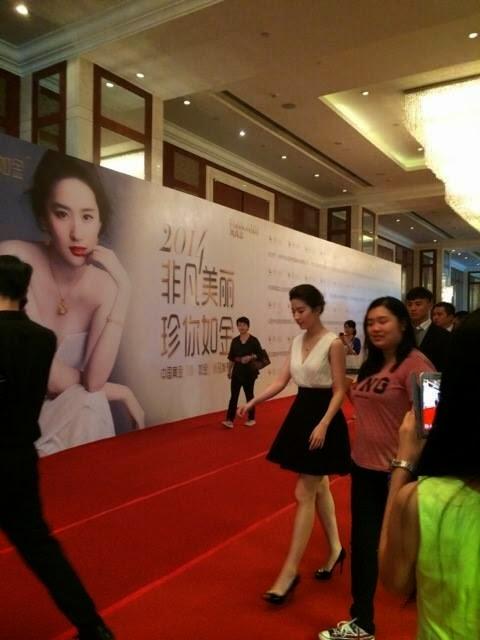 Liu Yi Fei for China Gold Jewelry in Chen Dong
