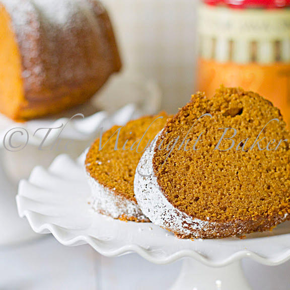 Pumpkin PoundCake