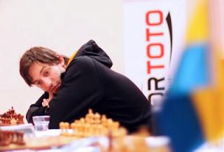 La Russie avec Alexander Grischuk au championnat du monde d'échecs par équipes