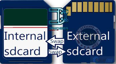 Cara Partisi Kartu Memori Micro SD Pada Android Menggunakan Link2SD Tanpa PC