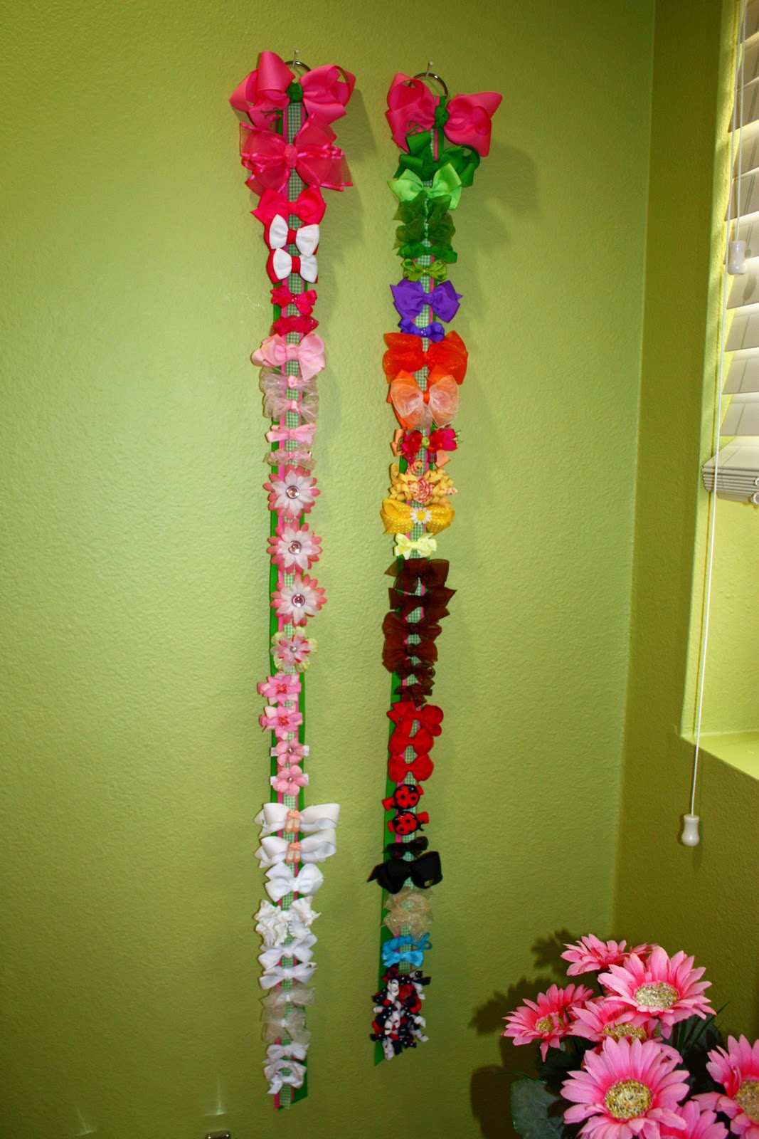 How to organize hair bows - Hair Accessories And A Winner