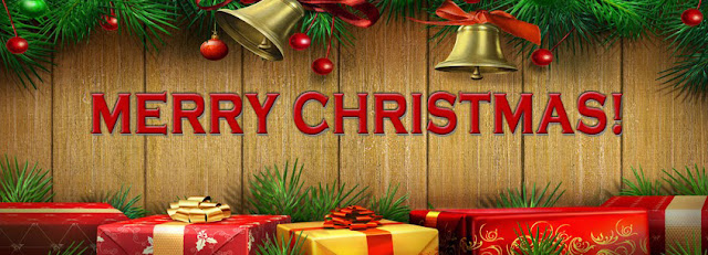 happy merry christmas facebook cover pic