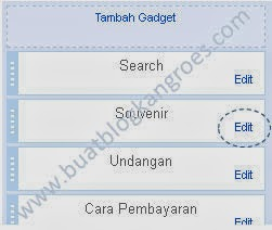 edit gadget label blogspot