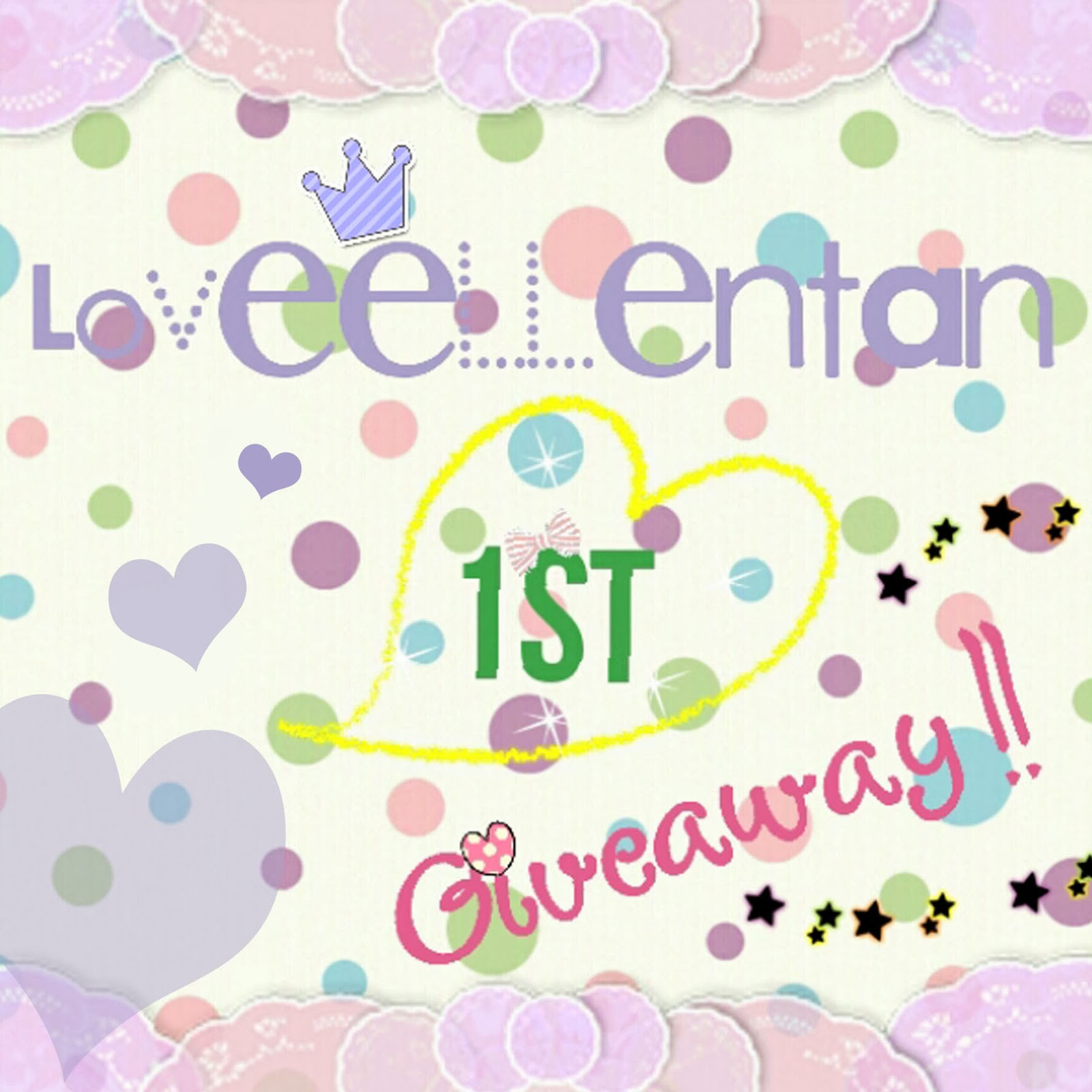 http://loveellentan.blogspot.com/2014/01/loveellentan-1st-giveaway.html