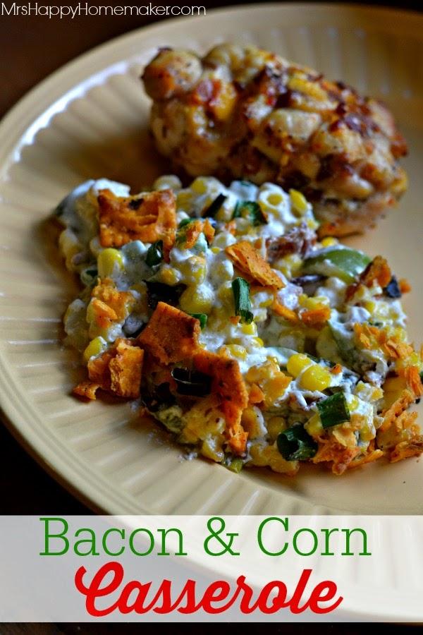 http://www.mrshappyhomemaker.com/2014/07/bacon-corn-casserole/