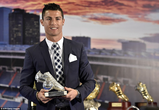 Speaking at the premiere of his film, Ronaldo refused to rule out a return to the Premier League