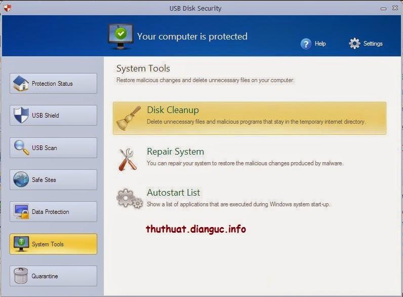 Usb Disk Security 6.4 Full Crack – Ngăn ngừa và diệt Virus từ USB