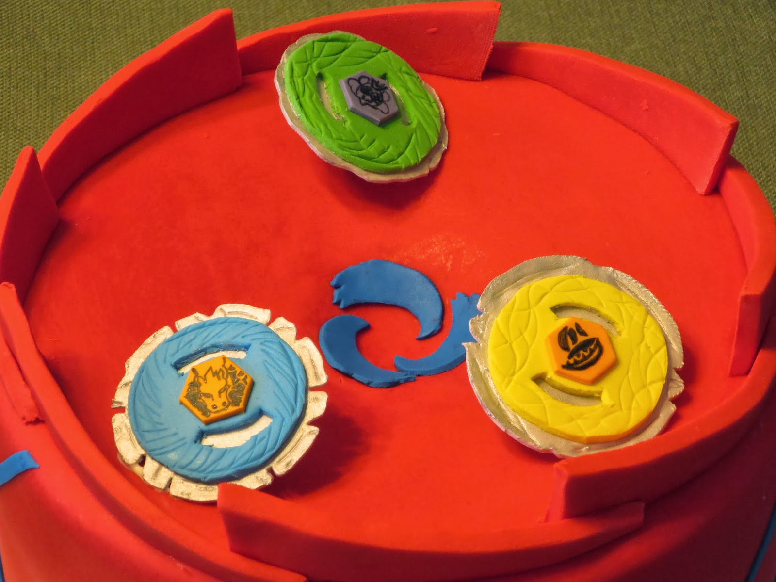 Js Cakes Beyblades Battle Arena Birthday Cake