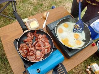 camping fry up