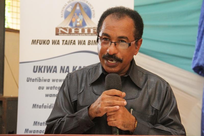 Mkuu wa Mkoa wa Mtwara,Mh. Joseph Simbakalia akizungumza machache