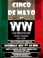 Cinco de Mayo at The Westwood Private members Only Club in Toledo