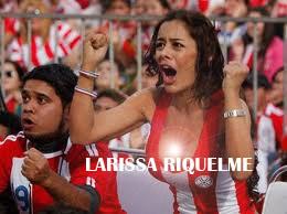 Sensasi Larissa Riquelme Jelang Final Copa America 2011 Paraguay Vs Uruguay