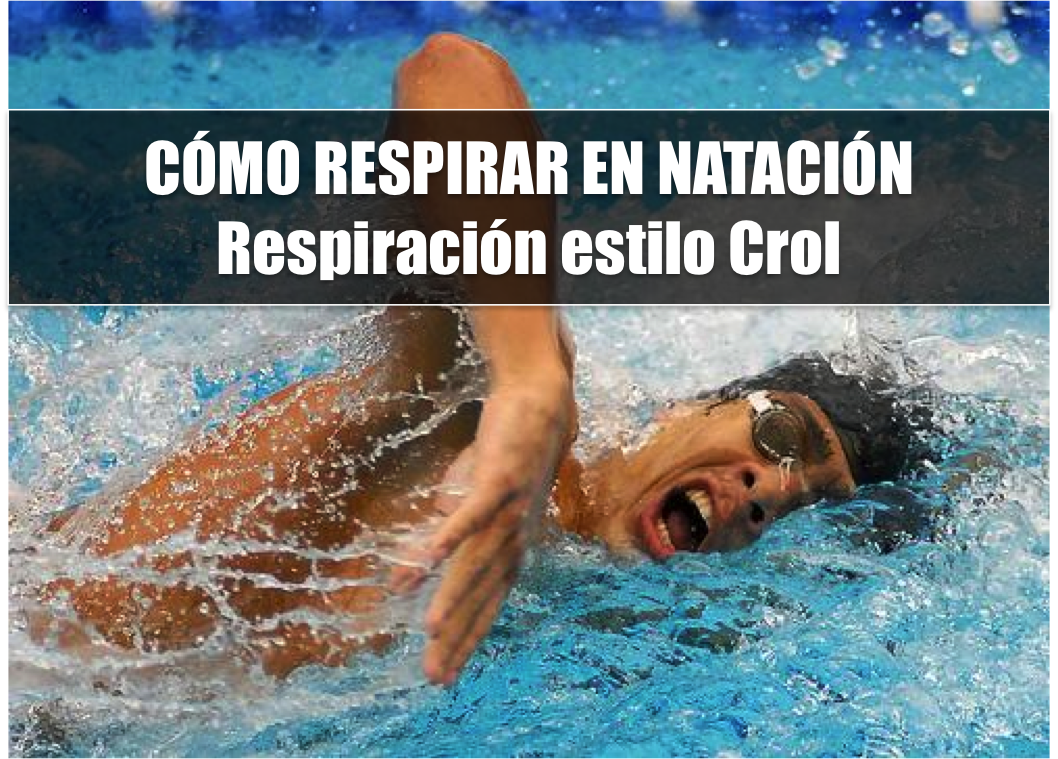 como respirar en natacion  respiracion estilo crol