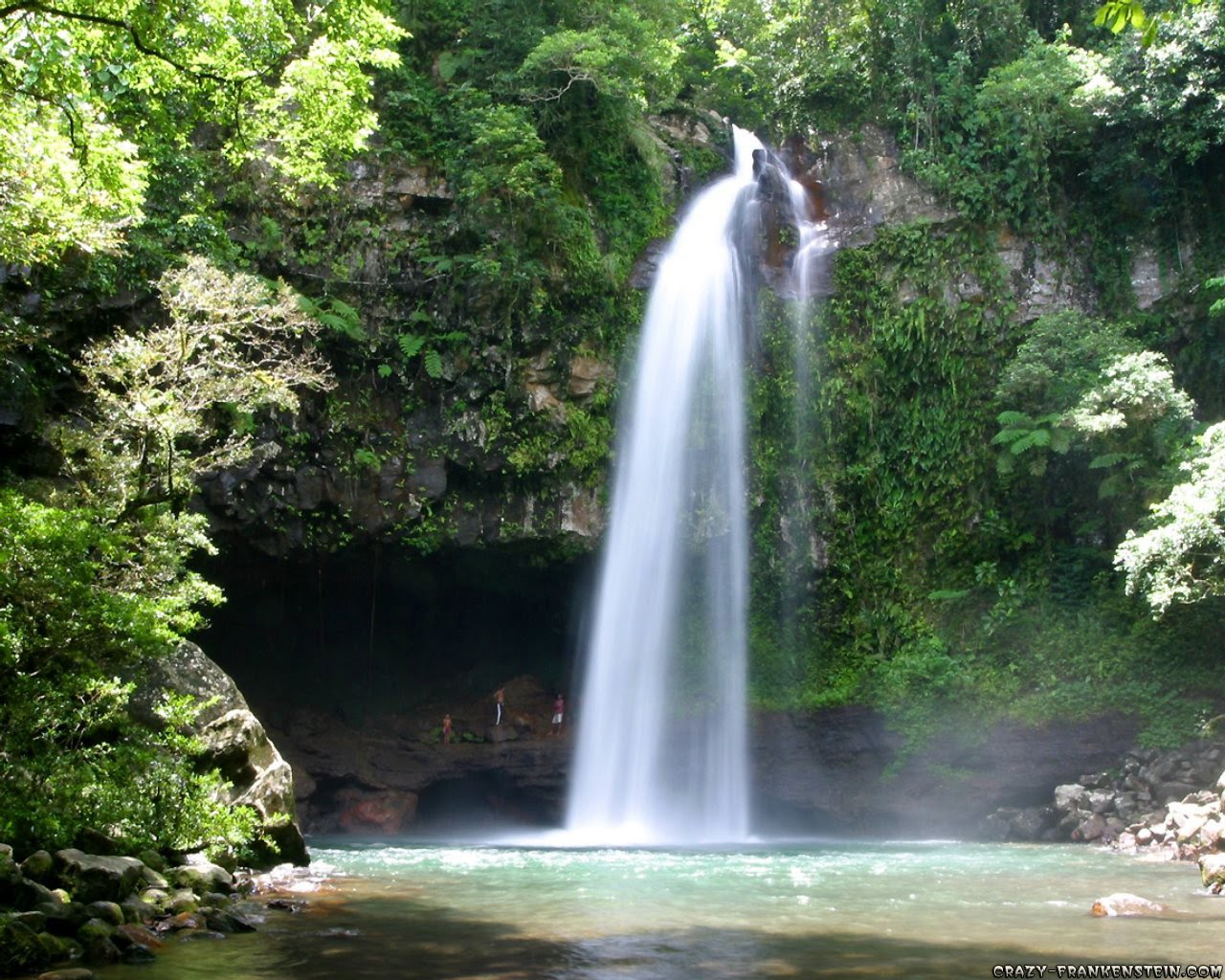 desktop beautiful waterfalls