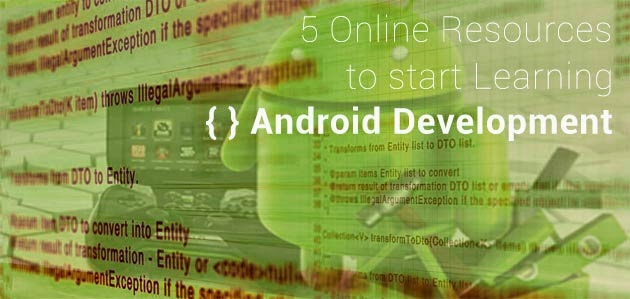 List apps for Android Apps Development