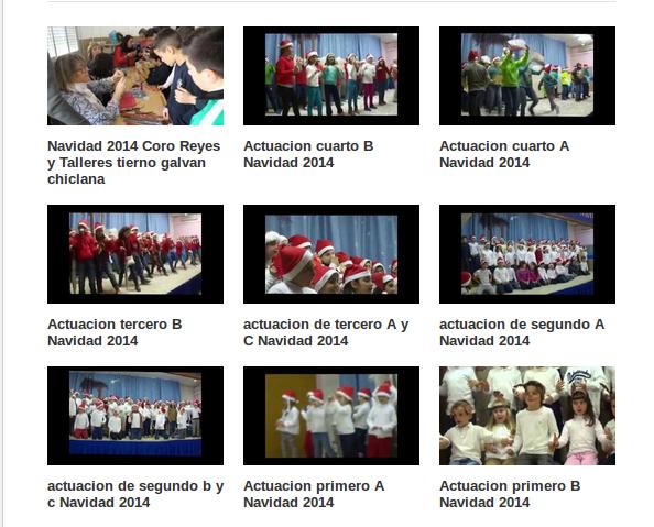lista reproduccion navidad 2014