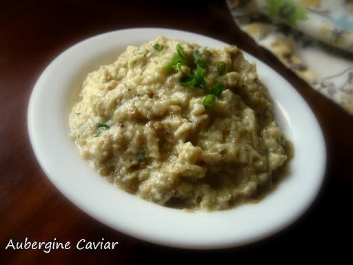 Home Cooking In Montana: Aubergine Caviar...Roasted Eggplant Dip (Gordon Ramsay)