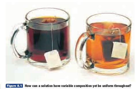 larutan teh pekat