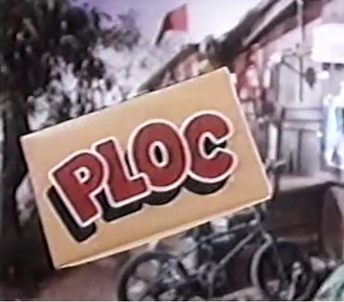 Propaganda do Clubinho Ploc para promoção da famosa goma de mascar de sucesso no anos 90.