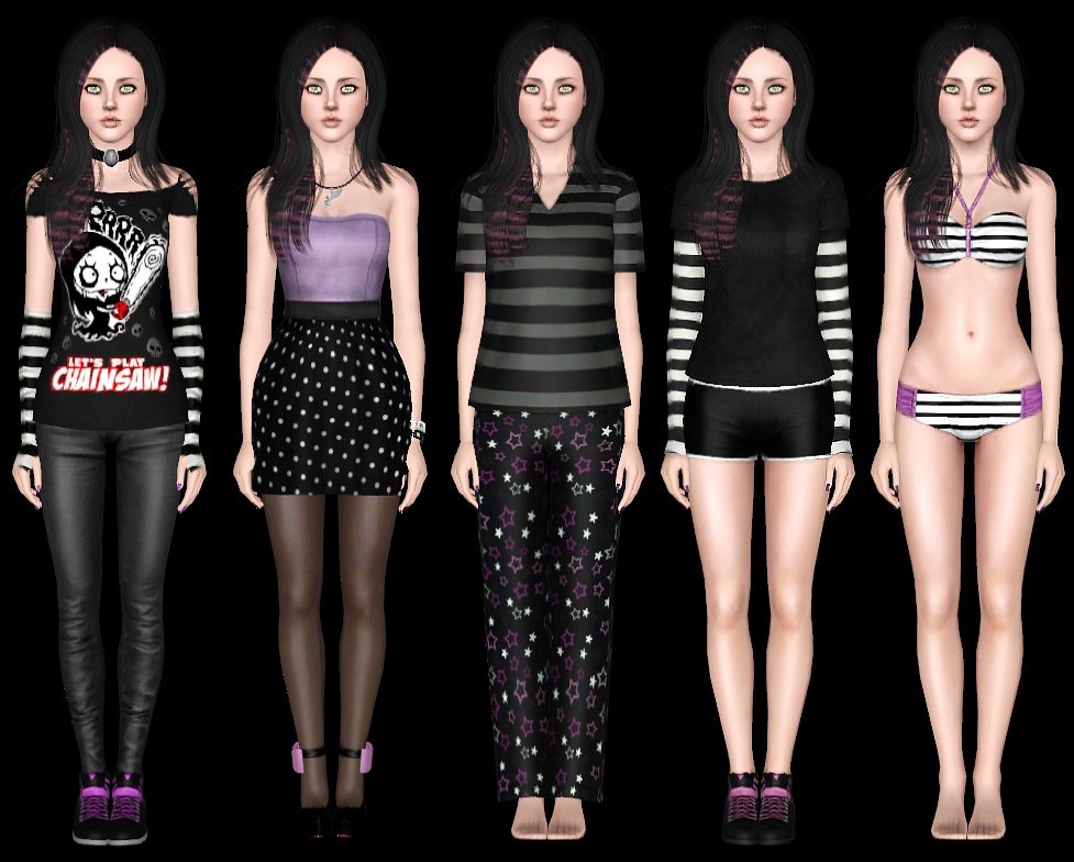 KillSwitch Sims: Cliche Emo Girl