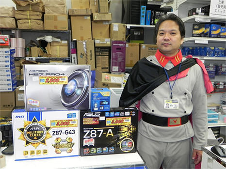 Haswell sales start Japan akihabara