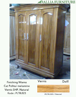 contoh furniture politur melamine terbaru allia furniture