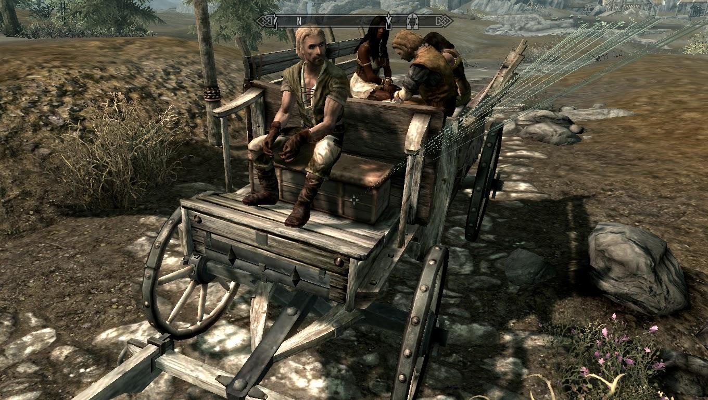 skyrim how to get a carriage