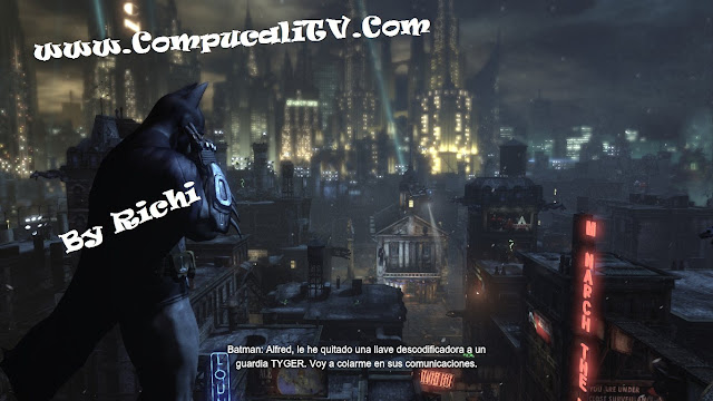 Capturas Propias By Richi Batman Arkham City PC 2011
