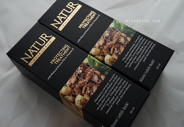 natur hair serum indonesia