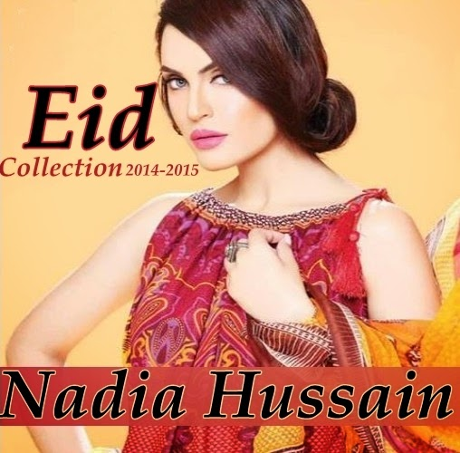 NadiaHussain Eid Collection 2014