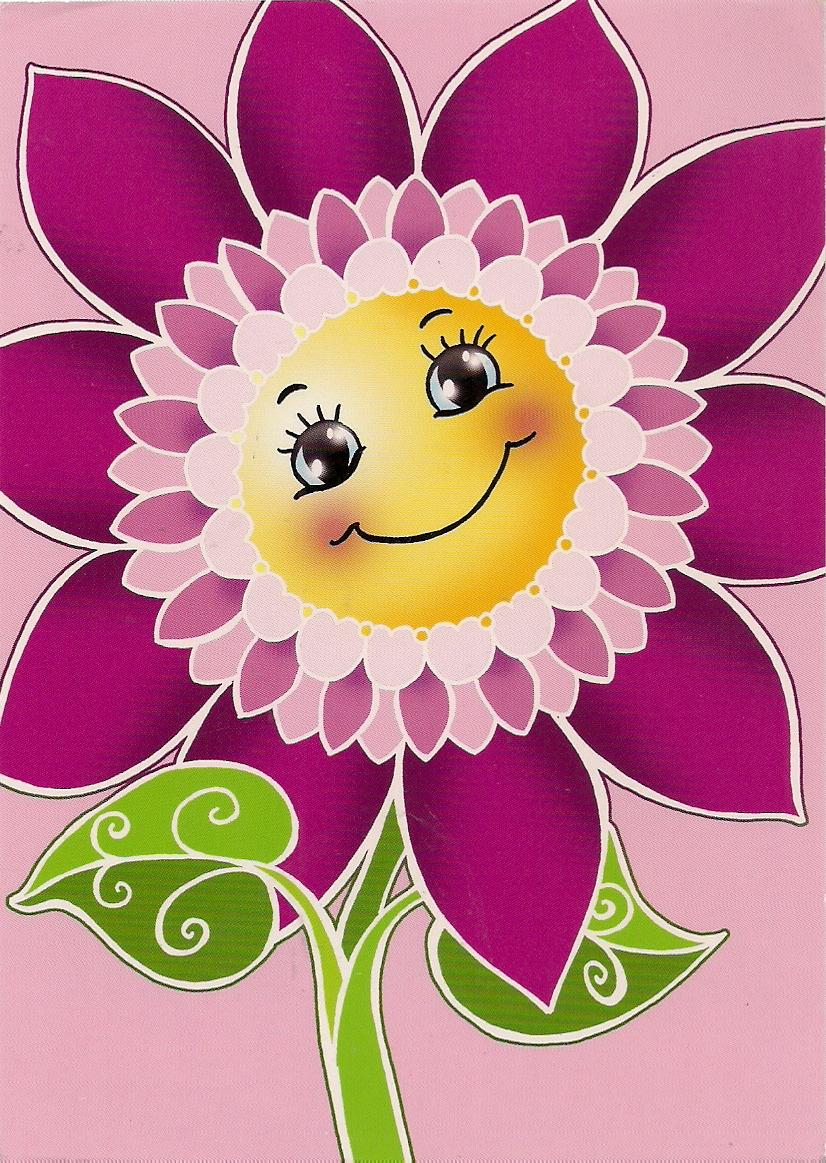 Smiley flower 