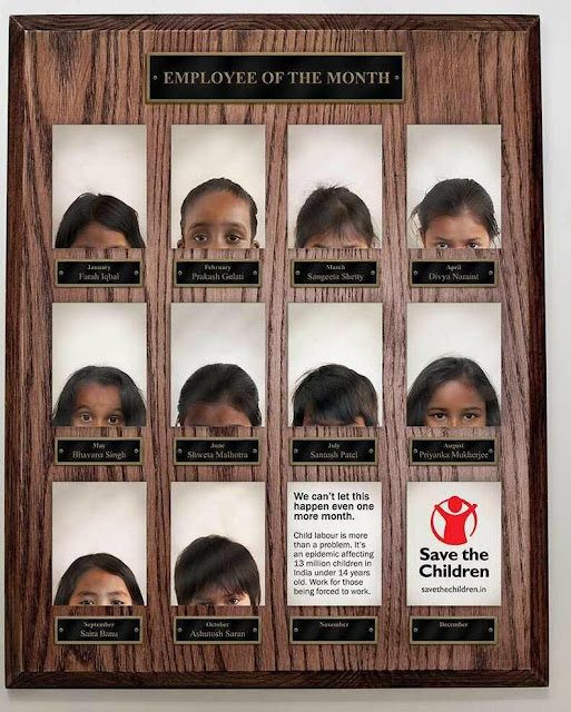 Green Pear Diaries, publicidad que incomoda, Save the Children