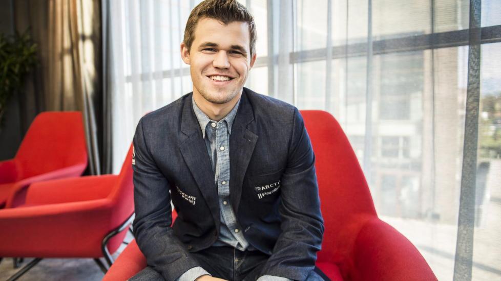 Le champion du monde d'échecs norvégien Magnus Carlsen © Chess & Strategy